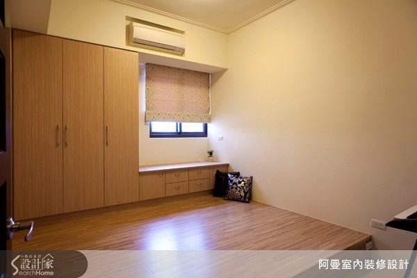36坪新成屋(5年以下)_現代風臥室案例圖片_阿曼空間設計_阿曼_10之12