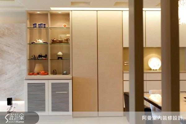 36坪新成屋(5年以下)_現代風玄關案例圖片_阿曼空間設計_阿曼_10之3