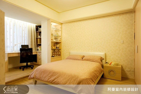 60坪新成屋(5年以下)_混搭風臥室案例圖片_阿曼空間設計_阿曼_11之10