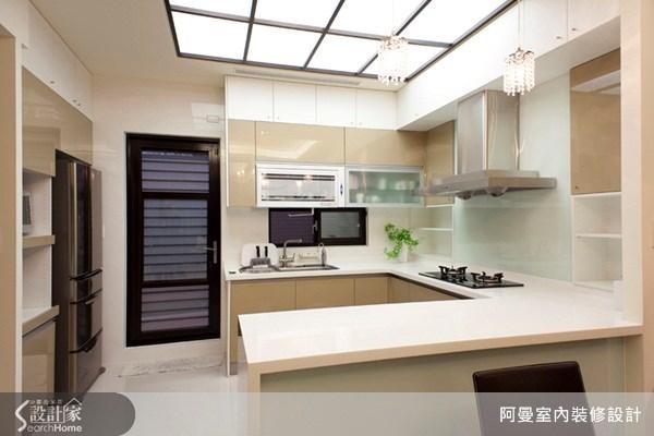 60坪新成屋(5年以下)_混搭風廚房案例圖片_阿曼空間設計_阿曼_11之5