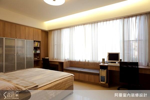 60坪新成屋(5年以下)_混搭風臥室案例圖片_阿曼空間設計_阿曼_11之12