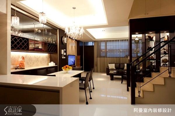 60坪新成屋(5年以下)_混搭風客廳案例圖片_阿曼空間設計_阿曼_11之6