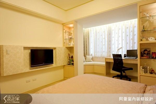 60坪新成屋(5年以下)_混搭風臥室案例圖片_阿曼空間設計_阿曼_11之11