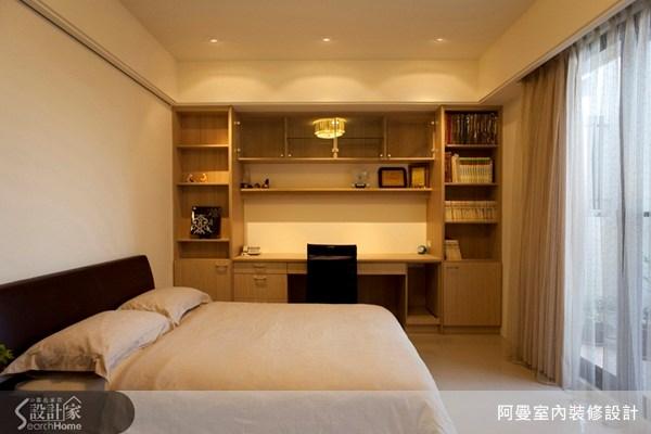 60坪新成屋(5年以下)_混搭風臥室案例圖片_阿曼空間設計_阿曼_11之13