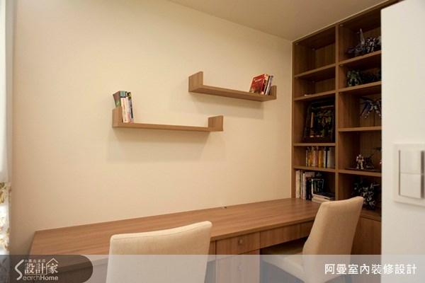 30坪新成屋(5年以下)_現代風書房案例圖片_阿曼空間設計_阿曼_13之11