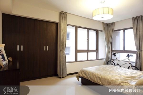 48坪新成屋(5年以下)_現代風臥室案例圖片_阿曼空間設計_阿曼_15之16