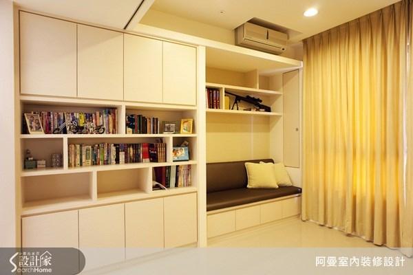 48坪新成屋(5年以下)_現代風書房案例圖片_阿曼空間設計_阿曼_15之10