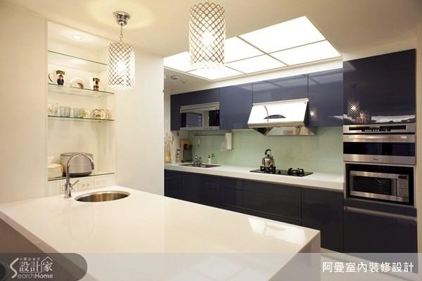 48坪新成屋(5年以下)_現代風廚房吧檯案例圖片_阿曼空間設計_阿曼_15之7
