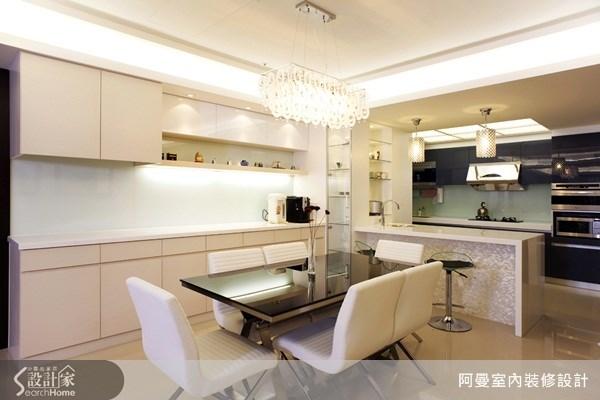 48坪新成屋(5年以下)_現代風餐廳吧檯案例圖片_阿曼空間設計_阿曼_15之5