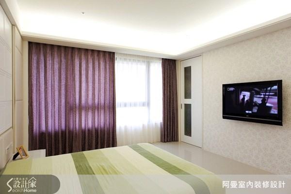 48坪新成屋(5年以下)_現代風臥室案例圖片_阿曼空間設計_阿曼_15之12
