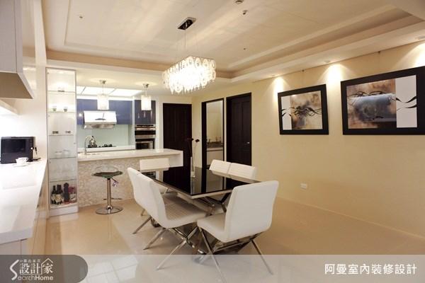 48坪新成屋(5年以下)_現代風餐廳吧檯案例圖片_阿曼空間設計_阿曼_15之6