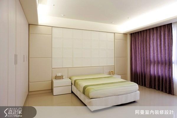 48坪新成屋(5年以下)_現代風臥室案例圖片_阿曼空間設計_阿曼_15之11