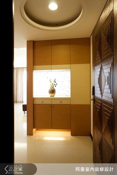 43坪新成屋(5年以下)_現代風玄關案例圖片_阿曼空間設計_阿曼_16之2