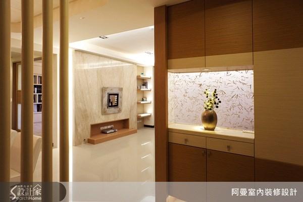 43坪新成屋(5年以下)_現代風玄關案例圖片_阿曼空間設計_阿曼_16之3