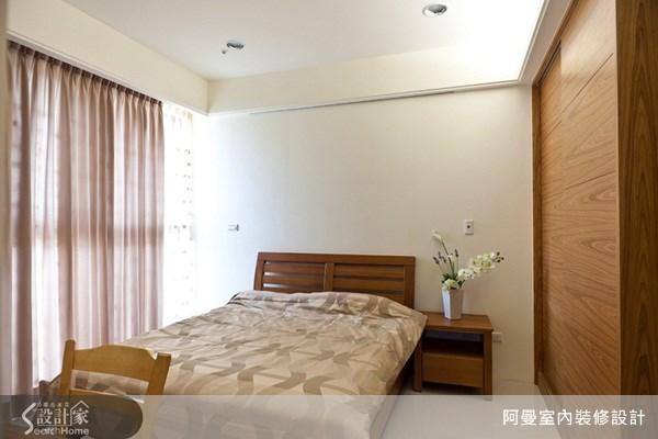 36坪新成屋(5年以下)_現代風臥室案例圖片_阿曼空間設計_阿曼_17之14