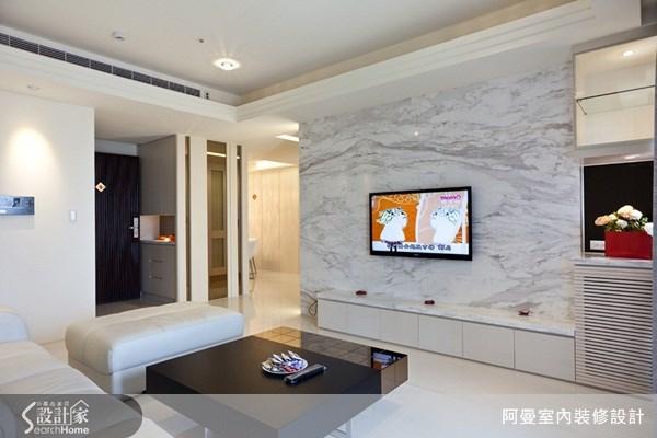 36坪新成屋(5年以下)_現代風客廳案例圖片_阿曼空間設計_阿曼_17之3