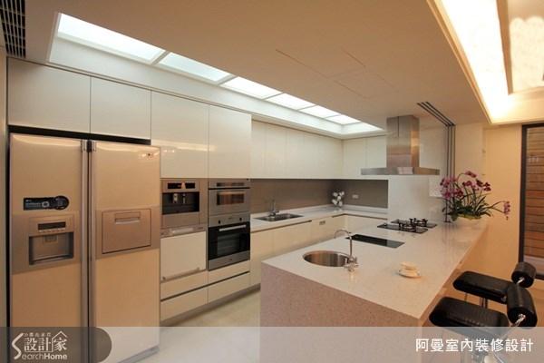 150坪預售屋_奢華風餐廳廚房吧檯案例圖片_阿曼空間設計_阿曼_18之3