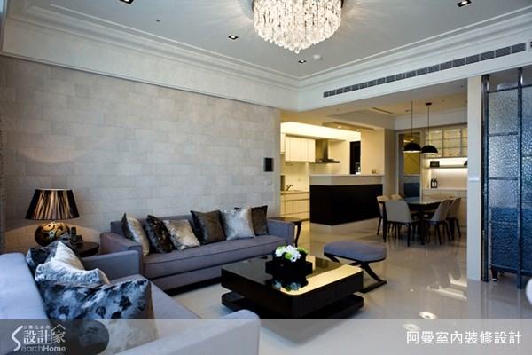 39坪新成屋(5年以下)_混搭風客廳案例圖片_阿曼空間設計_阿曼_19之4