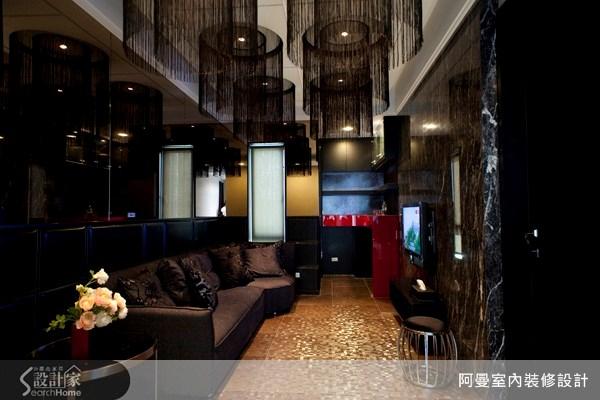 120坪新成屋(5年以下)_混搭風客廳案例圖片_阿曼空間設計_阿曼_20之1