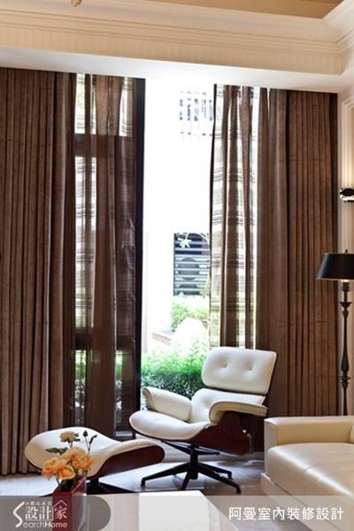68坪新成屋(5年以下)_美式風客廳案例圖片_阿曼空間設計_阿曼_21之4