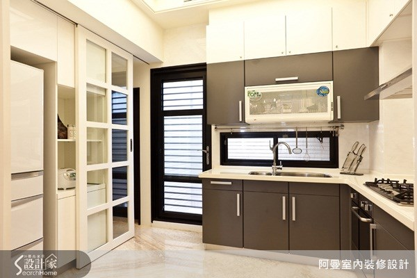 68坪新成屋(5年以下)_美式風廚房案例圖片_阿曼空間設計_阿曼_21之6