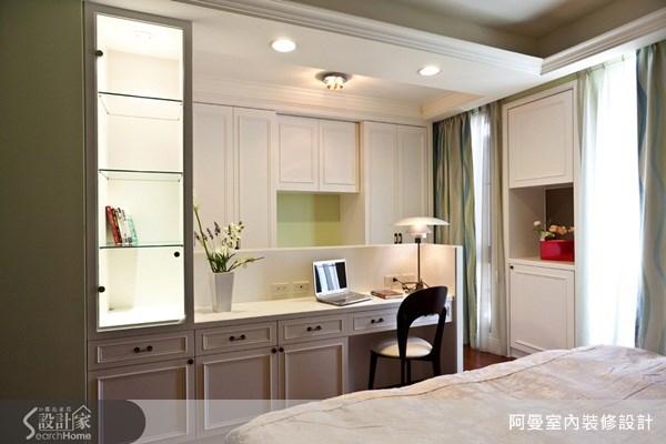 68坪新成屋(5年以下)_美式風臥室案例圖片_阿曼空間設計_阿曼_21之13