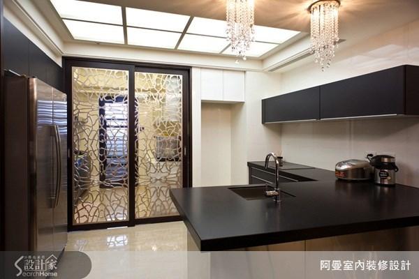 58坪新成屋(5年以下)_現代風廚房案例圖片_阿曼空間設計_阿曼_22之8