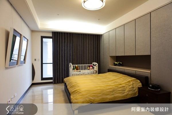 58坪新成屋(5年以下)_現代風臥室案例圖片_阿曼空間設計_阿曼_22之14