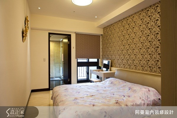 58坪新成屋(5年以下)_現代風臥室案例圖片_阿曼空間設計_阿曼_22之12