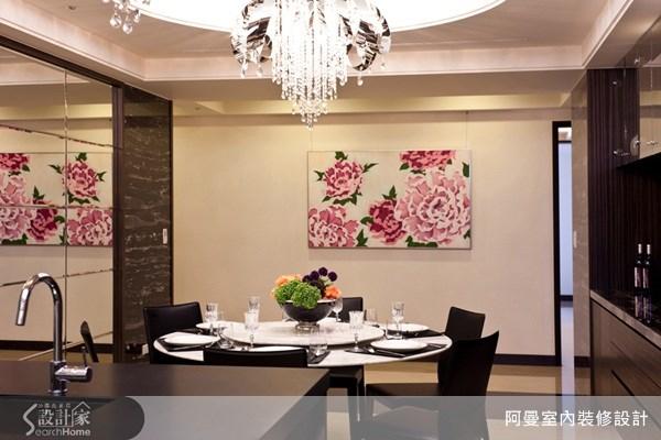 58坪新成屋(5年以下)_現代風餐廳案例圖片_阿曼空間設計_阿曼_22之6