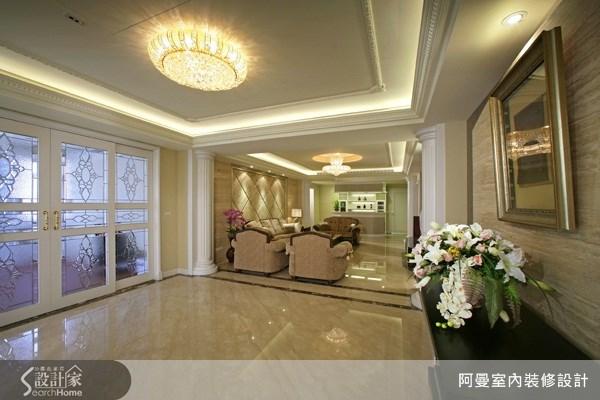 220坪預售屋_新古典玄關案例圖片_阿曼空間設計_阿曼_24之4