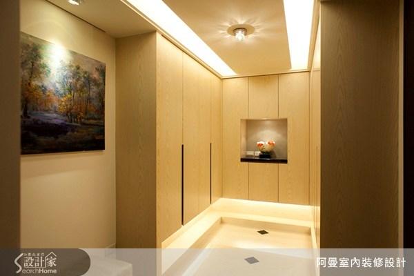 120坪新成屋(5年以下)_現代風走廊案例圖片_阿曼空間設計_阿曼_25之3
