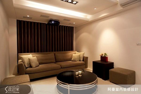 120坪新成屋(5年以下)_現代風客廳案例圖片_阿曼空間設計_阿曼_25之2