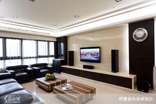 55坪新成屋(5年以下)_現代風客廳案例圖片_阿曼空間設計_阿曼_26之4