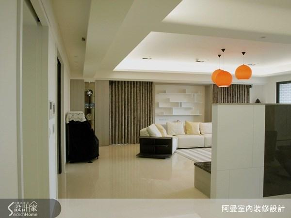 66坪新成屋(5年以下)_現代風客廳案例圖片_阿曼空間設計_阿曼_30之1