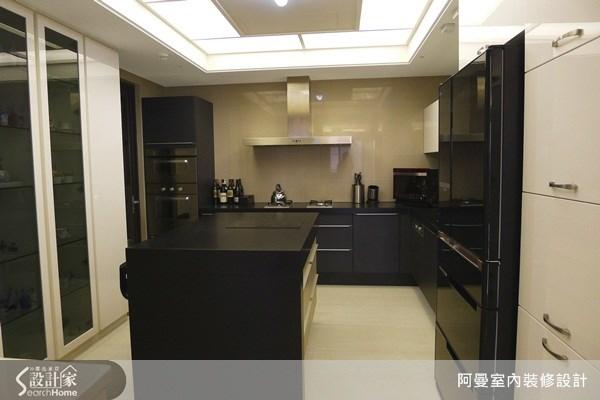 66坪新成屋(5年以下)_現代風廚房案例圖片_阿曼空間設計_阿曼_30之8