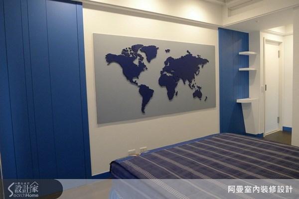 66坪新成屋(5年以下)_現代風臥室案例圖片_阿曼空間設計_阿曼_30之13