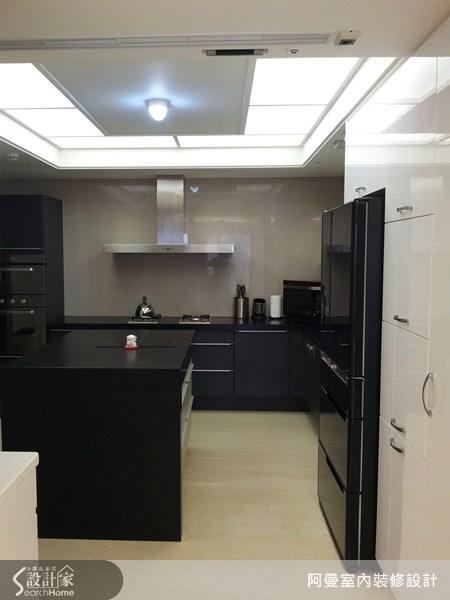 66坪新成屋(5年以下)_現代風廚房案例圖片_阿曼空間設計_阿曼_30之7