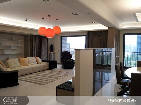 66坪新成屋(5年以下)_現代風客廳案例圖片_阿曼空間設計_阿曼_30之3