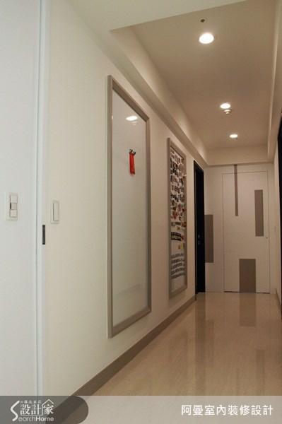 66坪新成屋(5年以下)_現代風玄關案例圖片_阿曼空間設計_阿曼_30之10
