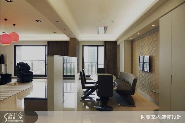 66坪新成屋(5年以下)_現代風餐廳案例圖片_阿曼空間設計_阿曼_30之6