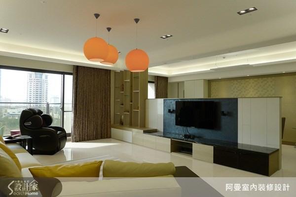 66坪新成屋(5年以下)_現代風客廳案例圖片_阿曼空間設計_阿曼_30之5