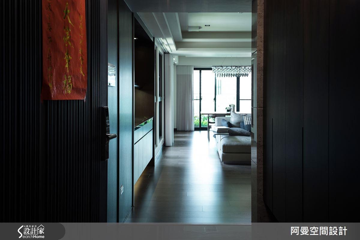 52坪新成屋(5年以下)_現代風玄關案例圖片_阿曼空間設計_阿曼_32之1