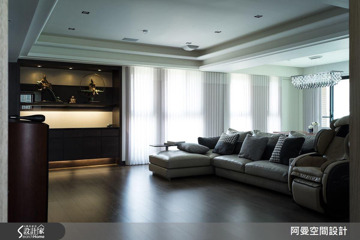 52坪新成屋(5年以下)_現代風客廳案例圖片_阿曼空間設計_阿曼_32之3