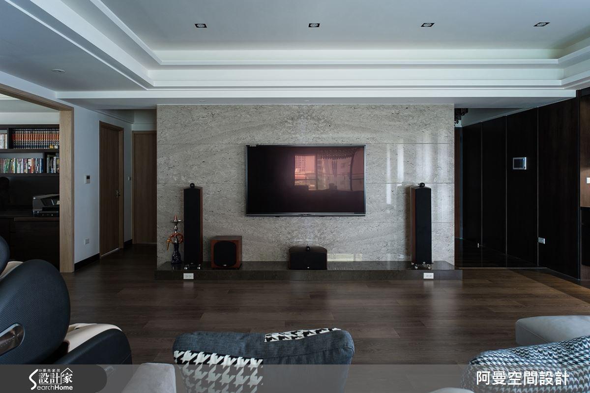 52坪新成屋(5年以下)_現代風客廳案例圖片_阿曼空間設計_阿曼_32之5