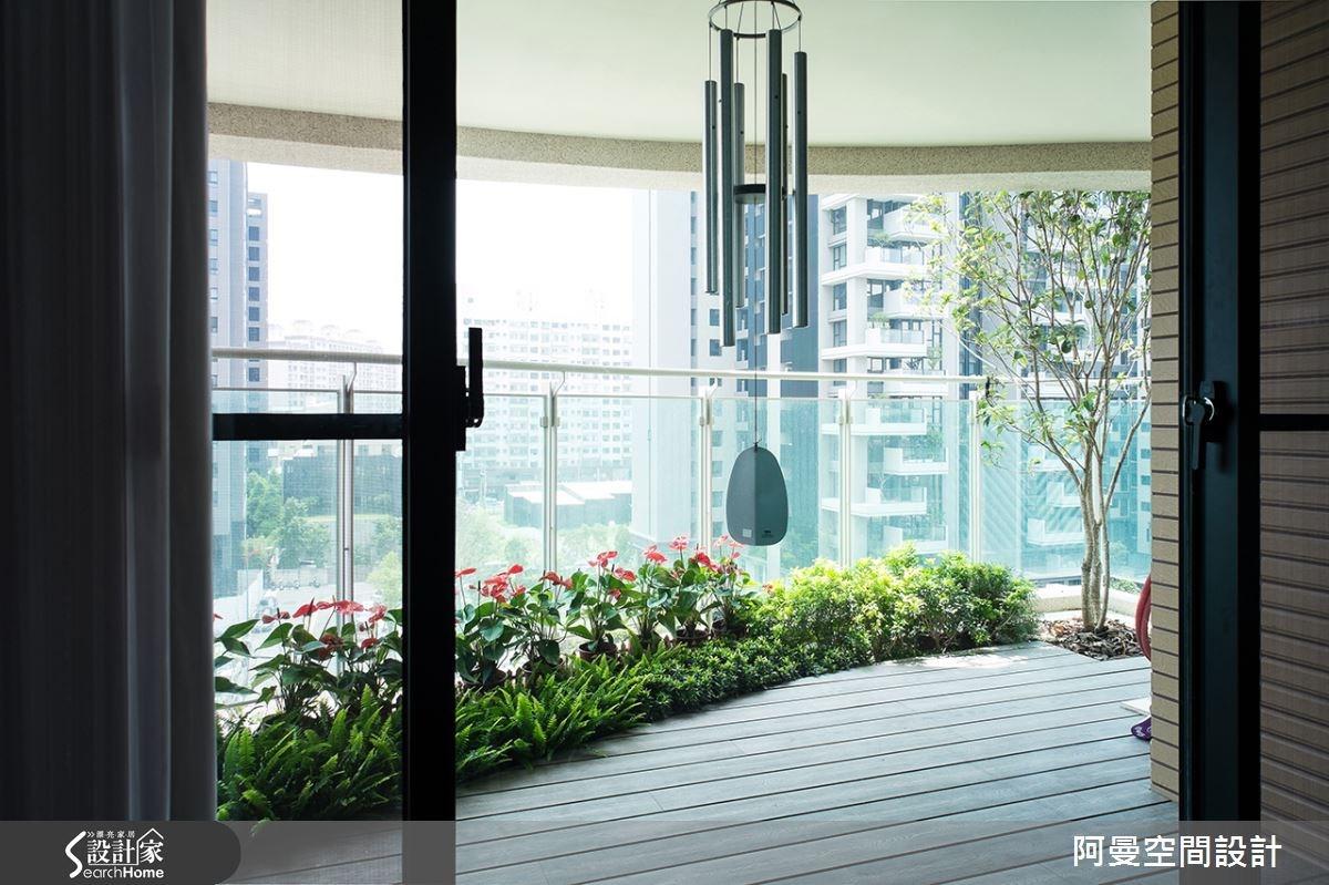 52坪新成屋(5年以下)_現代風庭院案例圖片_阿曼空間設計_阿曼_32之6