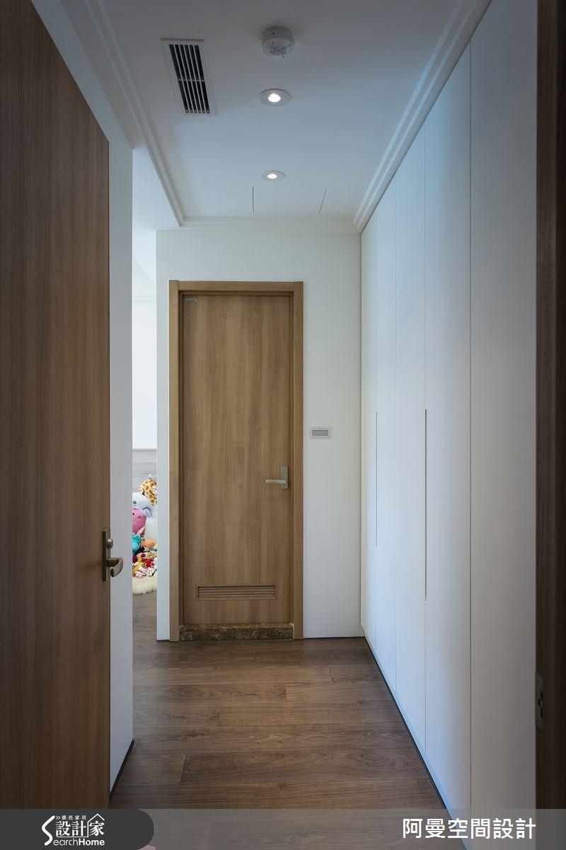 52坪新成屋(5年以下)_現代風玄關案例圖片_阿曼空間設計_阿曼_32之9