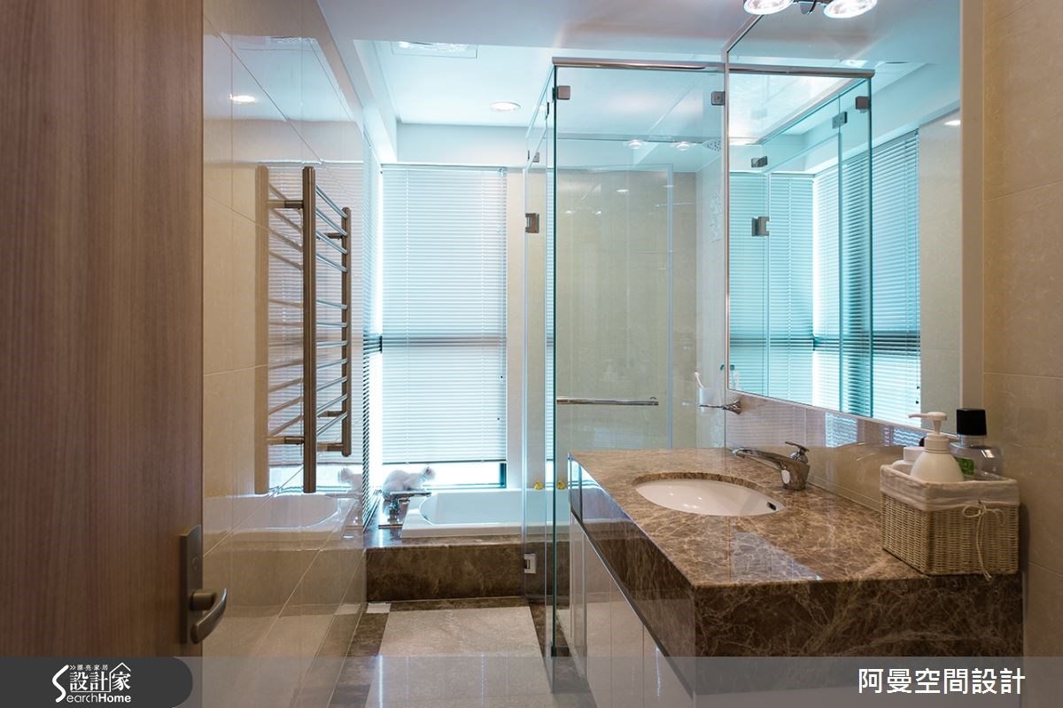 52坪新成屋(5年以下)_現代風浴室案例圖片_阿曼空間設計_阿曼_32之12