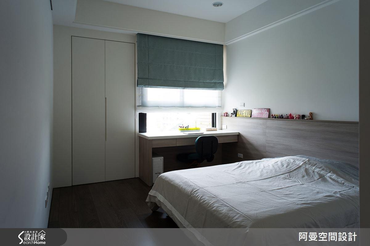 52坪新成屋(5年以下)_現代風臥室案例圖片_阿曼空間設計_阿曼_32之13