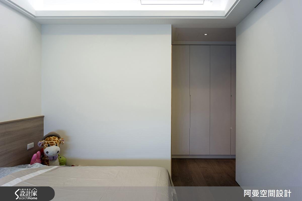 52坪新成屋(5年以下)_現代風臥室案例圖片_阿曼空間設計_阿曼_32之14
